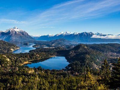 Argentinien Bariloche See Nahuel Huapi