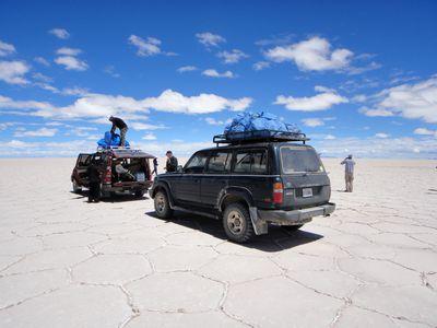 Bolivien Rundreise Salzsee Salzwueste Uyuni