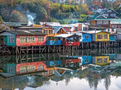 Chile Chiloe Palafitos