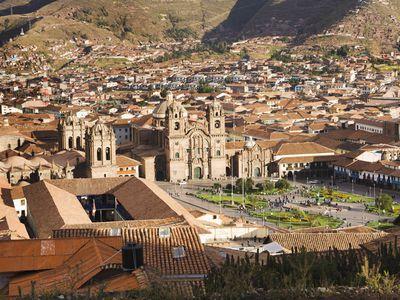 Peru Cusco Stadt