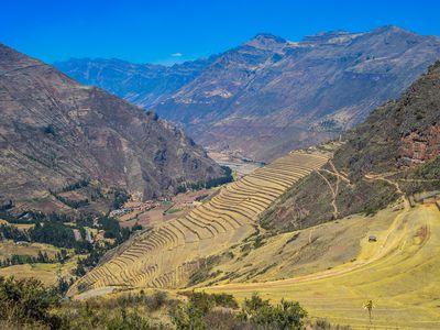 Peru Heiliges Tal Pisac Urubamba