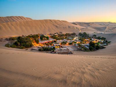 Peru Huacachina Wüstenoase