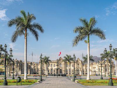 Peru Lima Plaza