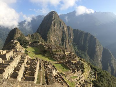 Peru Machu Picchu Inkastadt Anden
