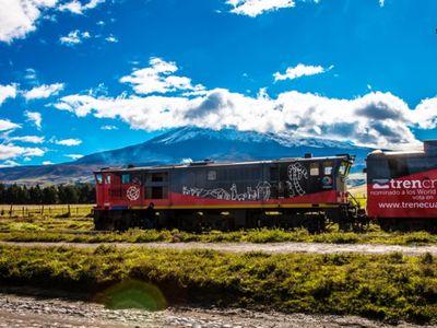 Ecuador tren crucero volcanos