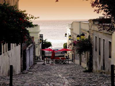 Uruguay Straßen von Colonia