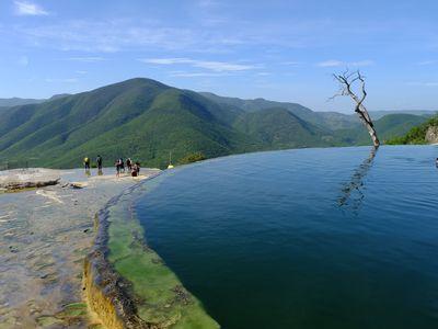 Mexiko Hierve el Aqua