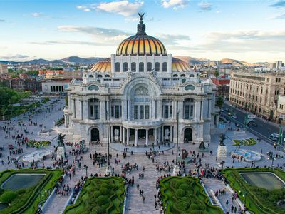 Mexiko Stadt Museo Bellas Artes