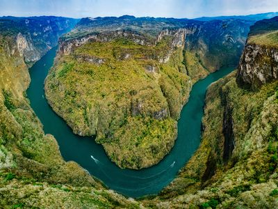 Mexiko Sumidero Canyon