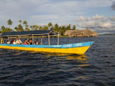 Panama San Blas Yandup Lodge Bootstour