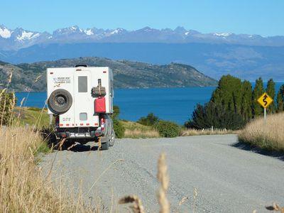 Chile Bergblick Camper Camperreise