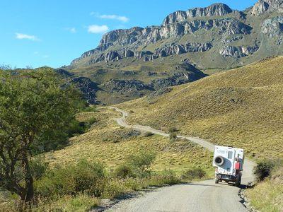 Chile Berge Camper Camperreise
