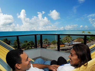 Brasilien Maceio Hotelblick
