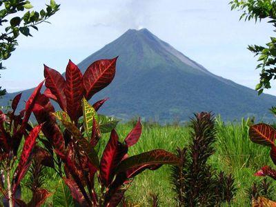 Costa Rica Vulkan Ausblick