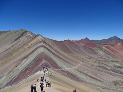 Peru Rainbow Mountain Bilder C