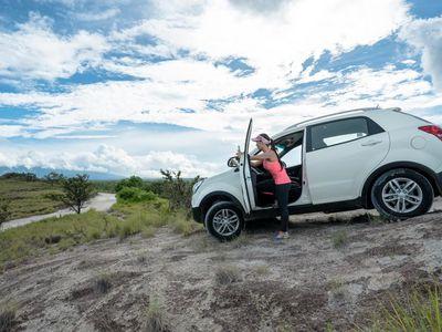 Costa Rica Mietwagen Adobe Ssang Yong Korando