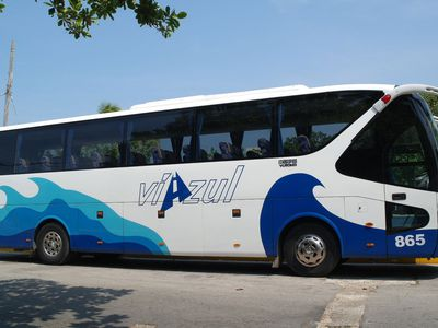 Kuba Bus Viazul Bequem Außenansicht
