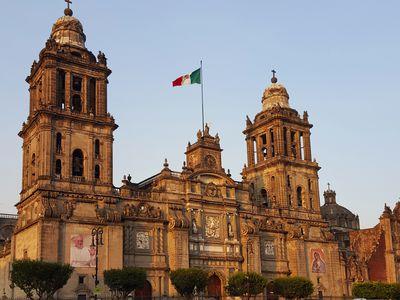 Mexiko Mexiko Stadt Kathedrale2