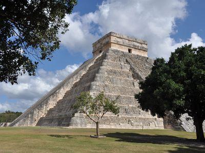Mexiko Chichen Itza Pyramide