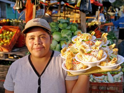 Nicaragua Vigoron from lunch