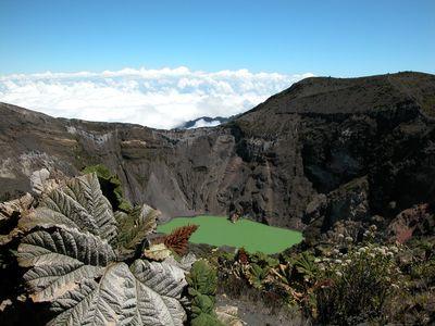 Costa Rica Irazu Vulkankrater