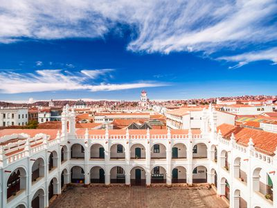 Bolivien Sucre Stadt iStock 859293856