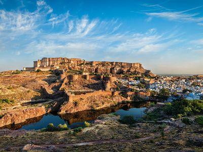 Indien Jodhpur Fort and City schoenes Wetter beste Reisezeit