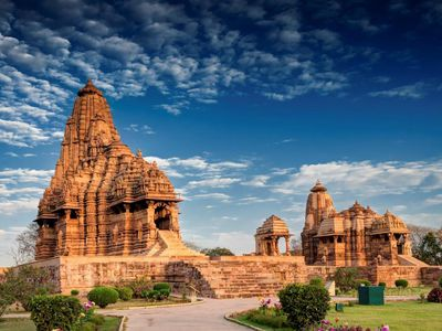 Indien Khajuraho Tempel Kultur Reise
