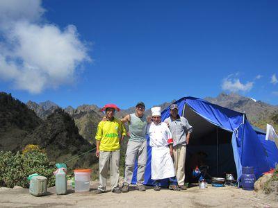 Peru Inka Trail Tag 3 Team
