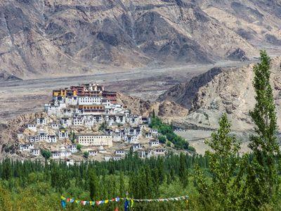 Indien Ladakh Thikse kloster