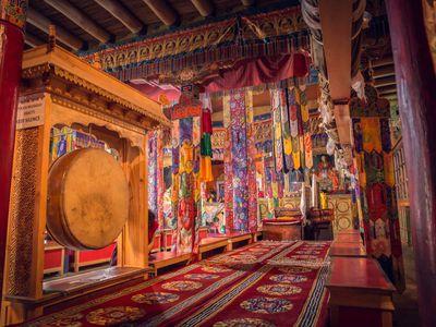 indien ladakh kloster