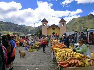 Andenmarkt Ecuador