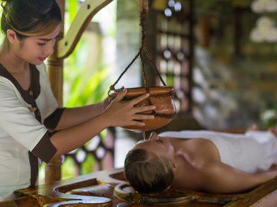 malediven spa massagen