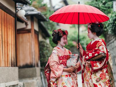 Japan Maiko Geisha in Kyoto iStock 538060968