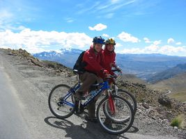 mountainbike 2 personen