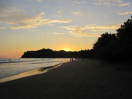 costa rica pazifikstrand sonnenuntergang