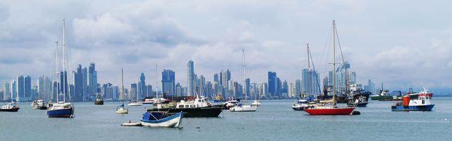 panama Panama Stadt Skyline