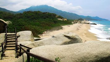 kolumbien tayrona nationalpark