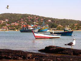 Brasilien Buzios Hafen