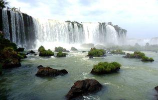 Brasilien Foz do Iguazu Wasserfall