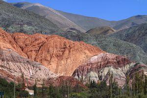 Argentinien Salta Farbenspektakel