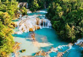 Mexiko Cascades Aqua Azul iStock 679528068