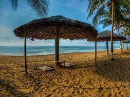 Indien Mamallapuram Ideal Beach Resort Strand
